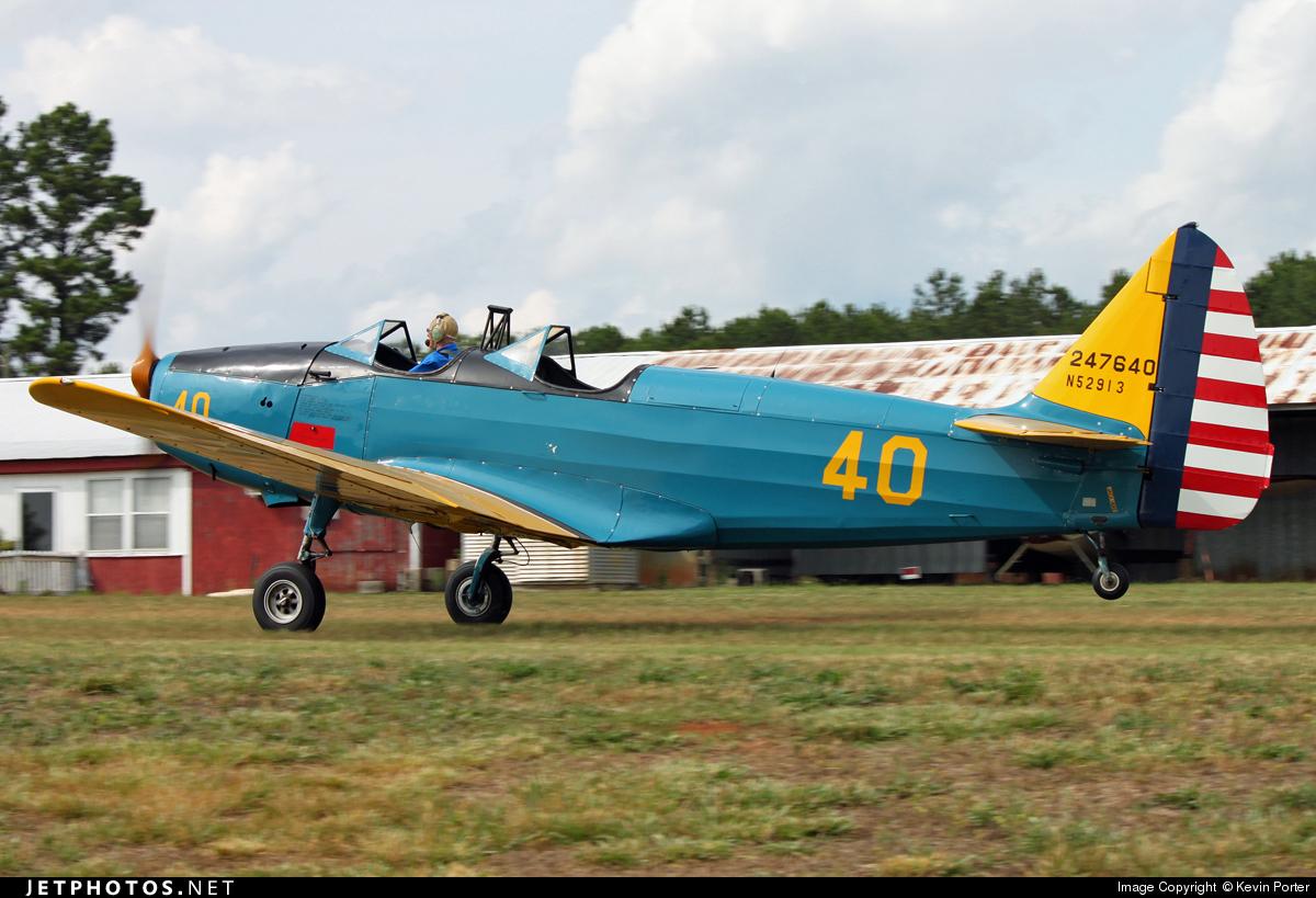 N52913 - Fairchild M-62 - Private
