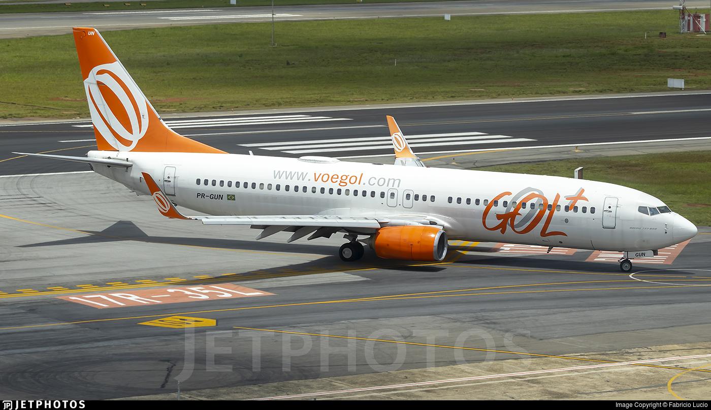 PR-GUN - Boeing 737-8EH - GOL Linhas Aéreas