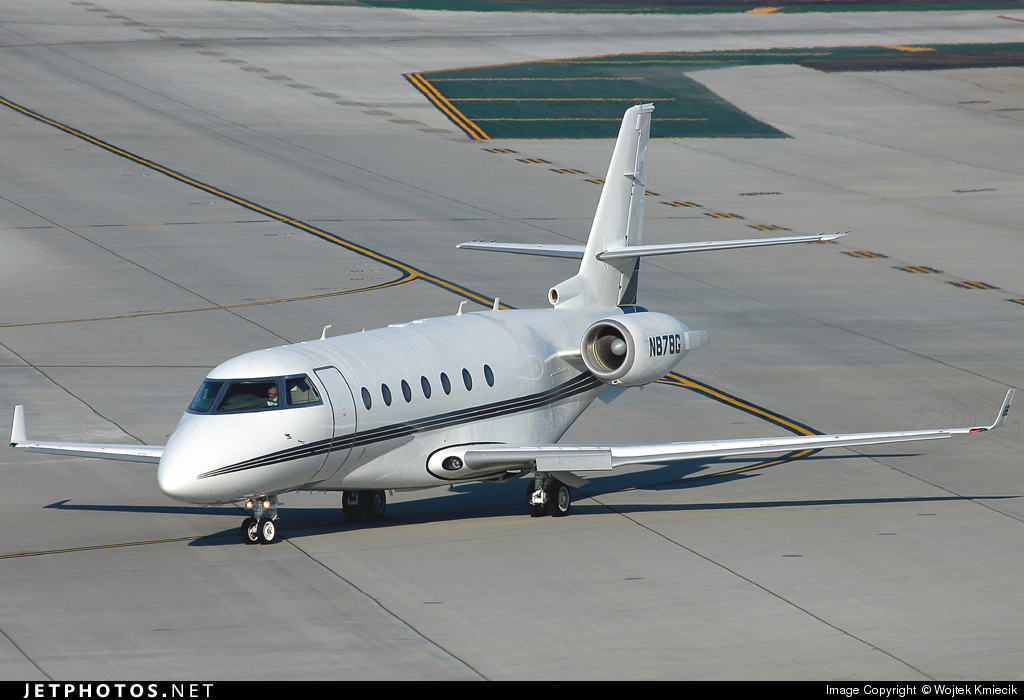 N878G - Gulfstream G200 - General Electric
