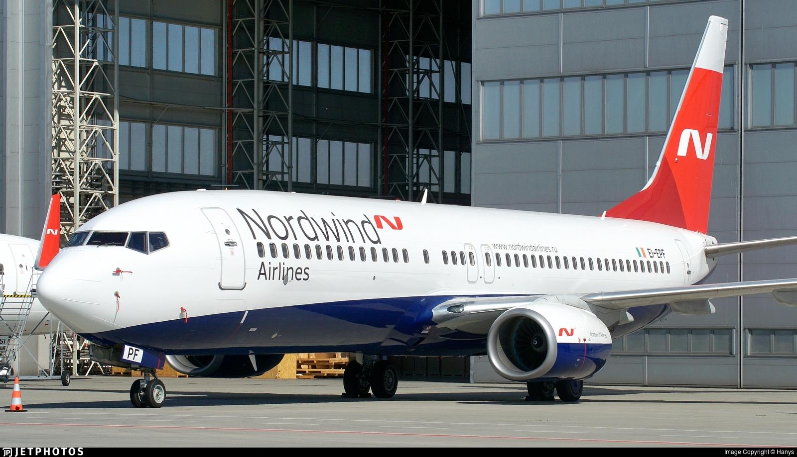 EI-EPF - Boeing 737-8AS - Nordwind Airlines