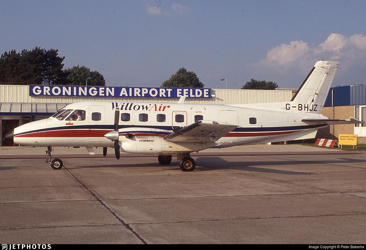 G-BHJZ - Embraer EMB-110P2 Bandeirante - Willow Air