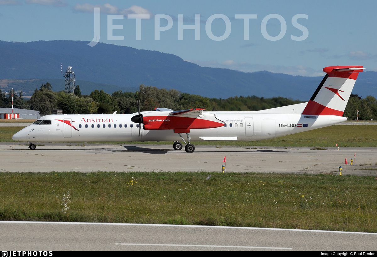 OE-LGD - Bombardier Dash 8-Q402 - Austrian Airlines