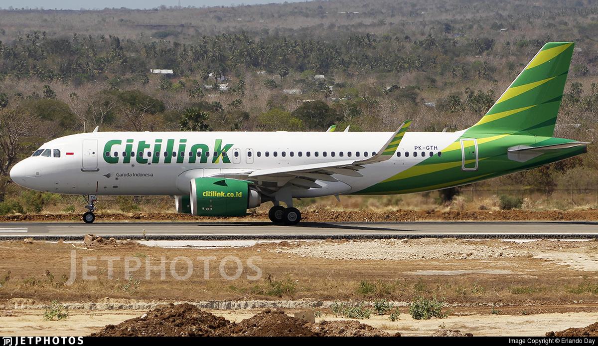 PK-GTH - Airbus A320-251N - Citilink