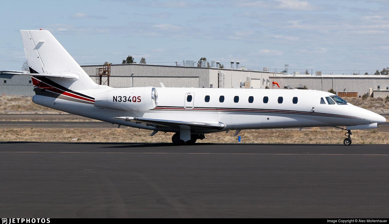 N334QS - Cessna 680 Citation Sovereign - NetJets Aviation