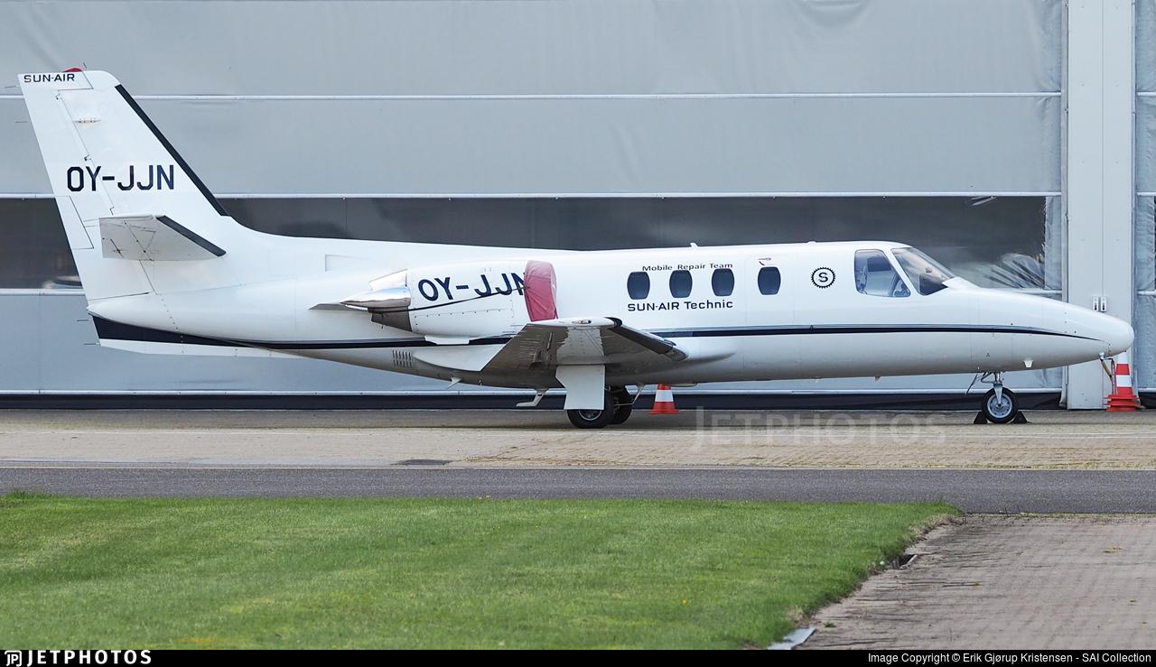 OY-JJN - Cessna 501 Citation SP - Sun-Air of Scandinavia
