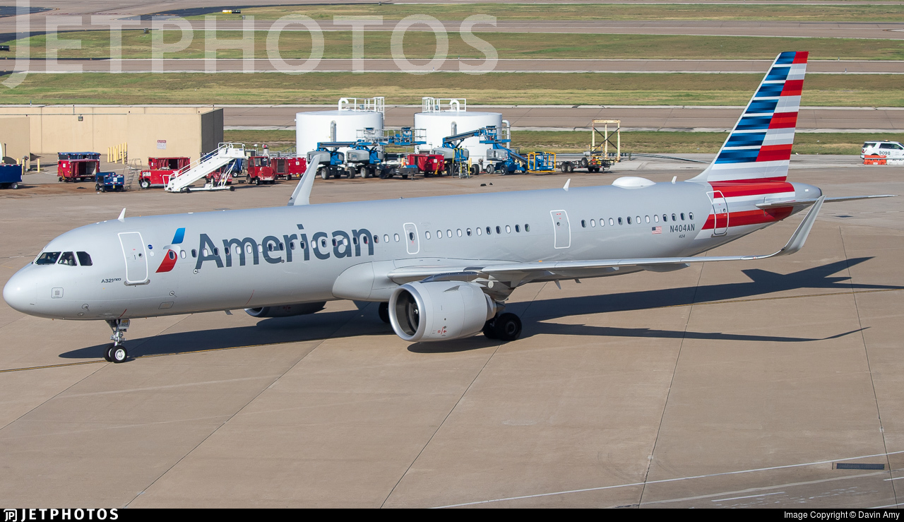 N404AN - Airbus A321-253NX - American Airlines