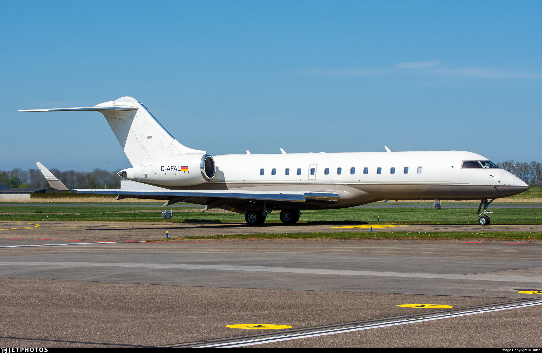 D-AFAL - Bombardier BD-700-1A10 Global Express - FAI Rent-a-jet