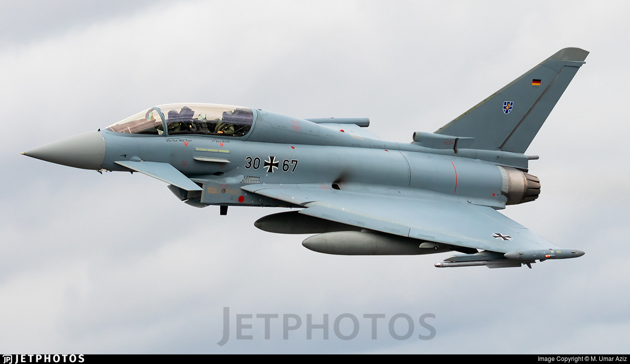 30-67 - Eurofighter Typhoon EF2000(T) - Germany - Air Force