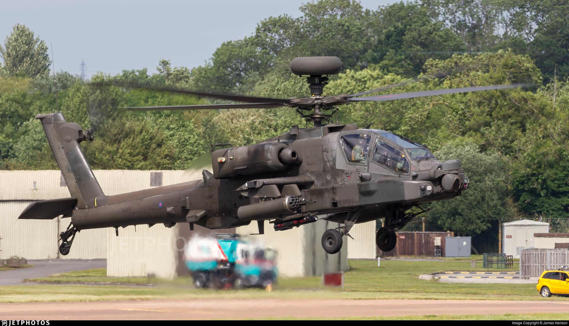 ZJ181 - Westland Apache AH.1 - United Kingdom - Army Air Corps