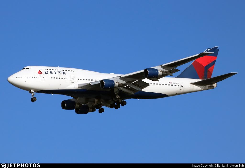 N670US - Boeing 747-451 - Delta Air Lines