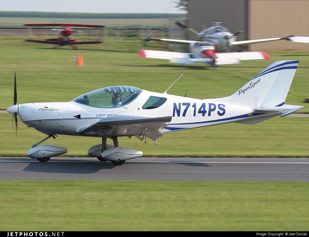 N714PS - Piper Sport Cruiser - Private