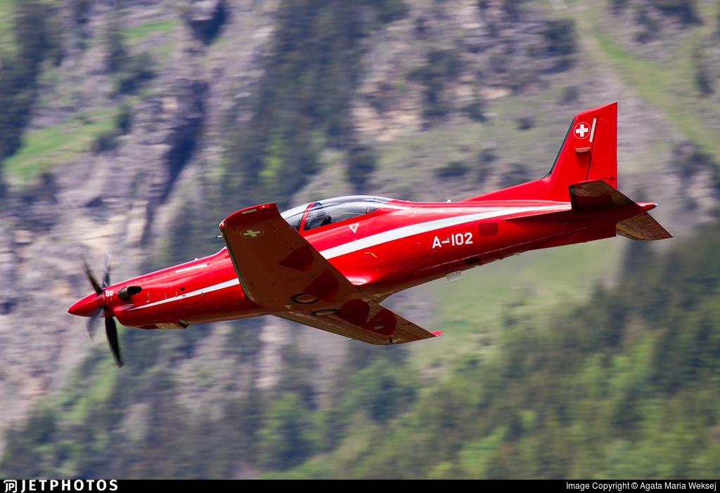 A-102 - Pilatus PC-21 - Switzerland - Air Force