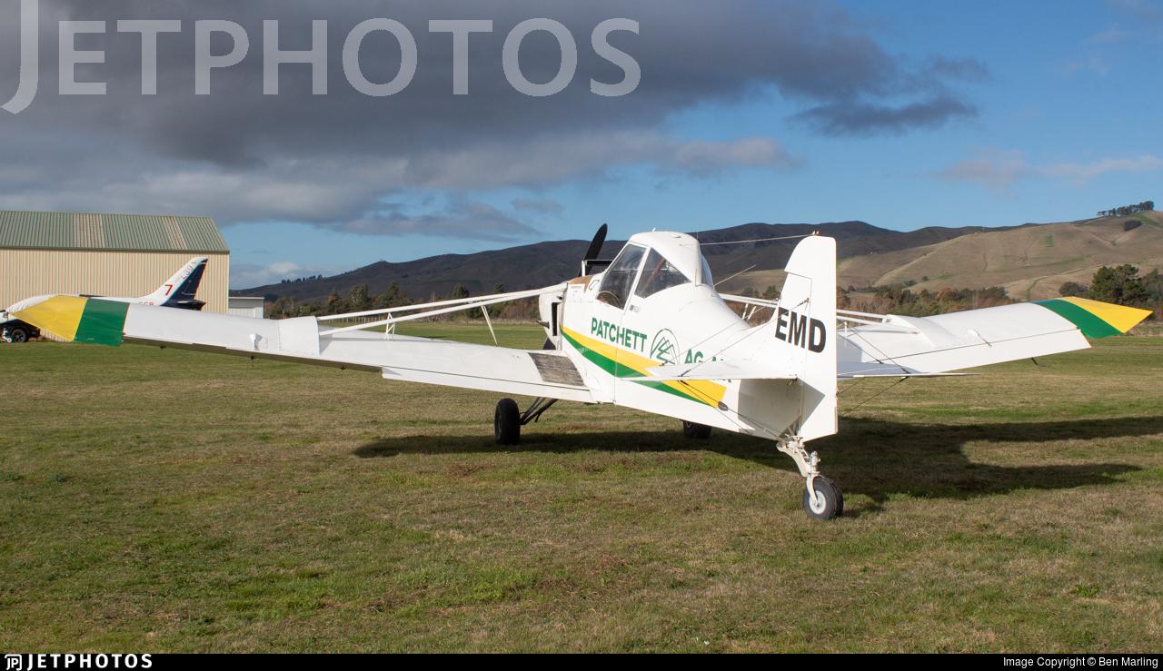ZK-EMD - Gippsland GA-200 Fatman - Patchett Ag-Air