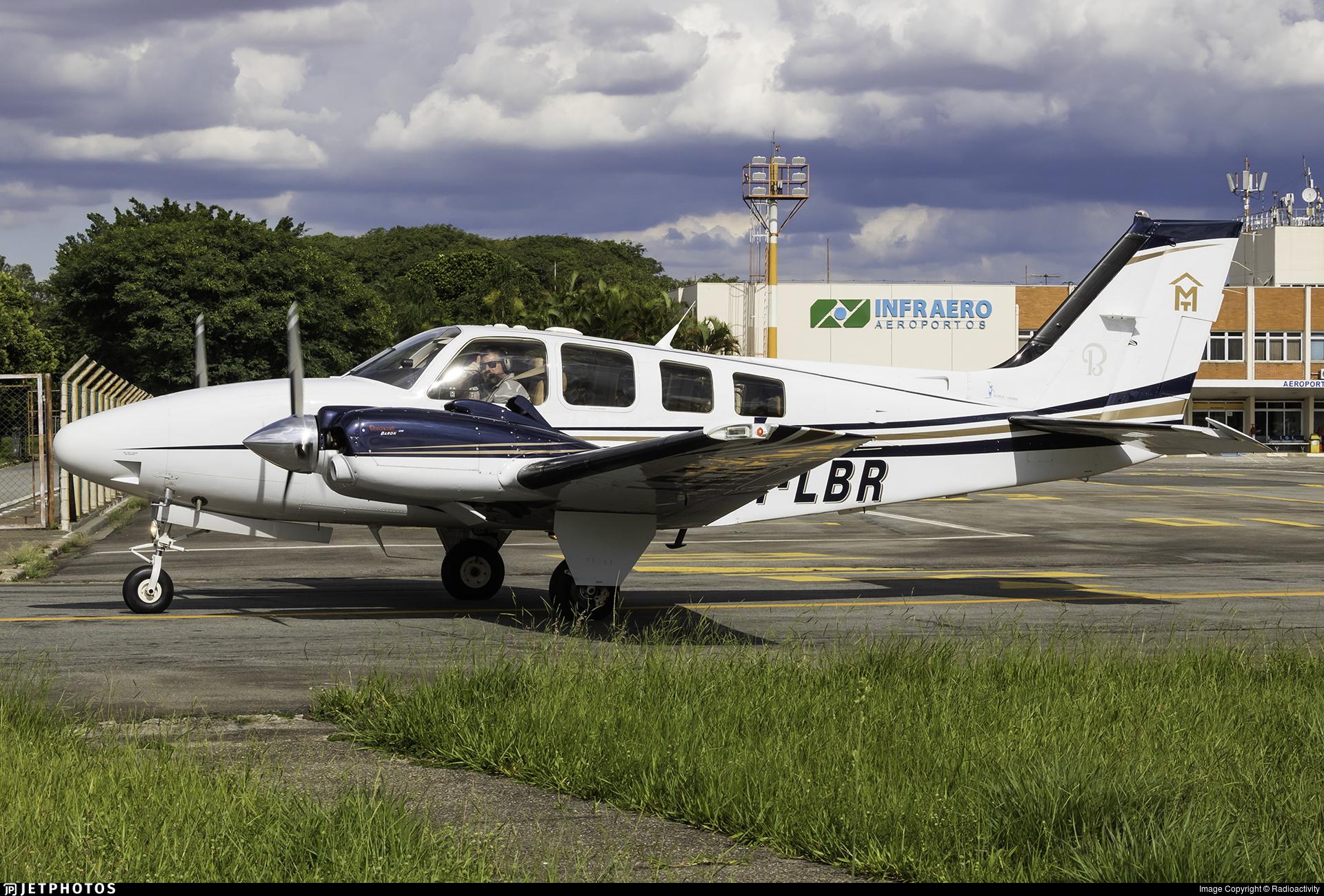 PT-LBR - Beechcraft G58 Baron - Private