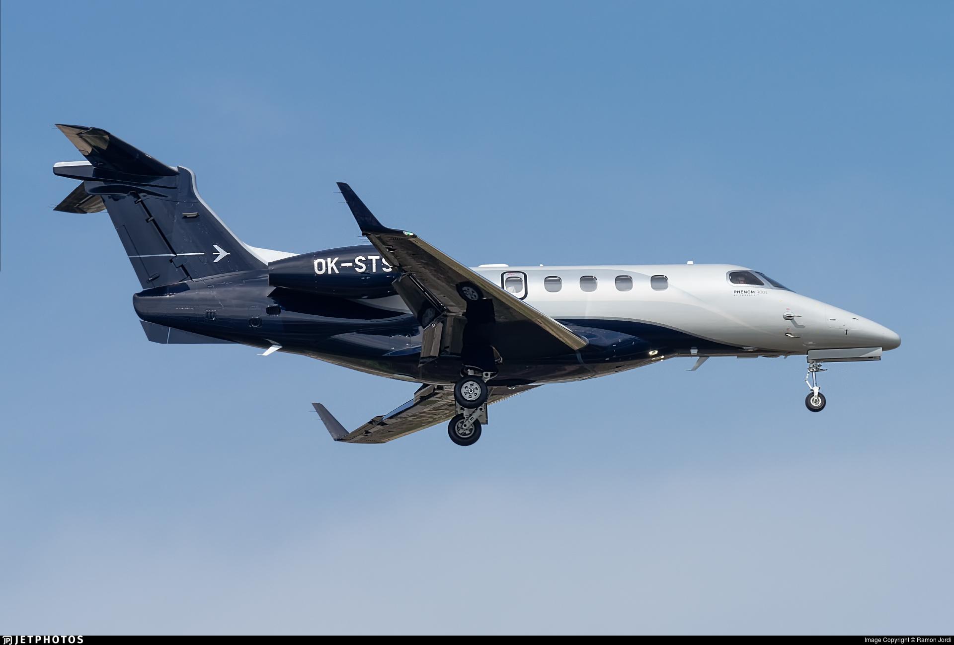 OK-STS - Embraer 505 Phenom 300E - Queen Air