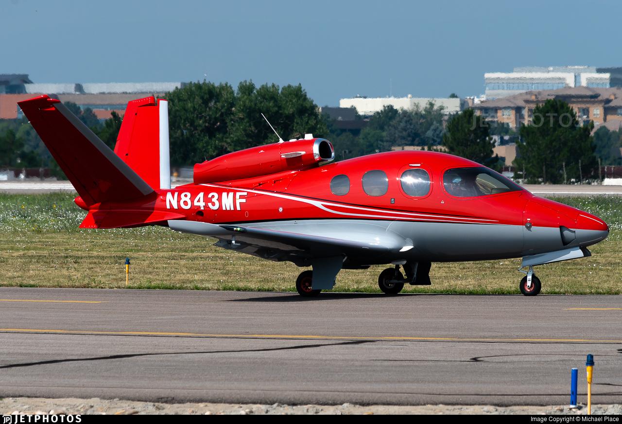 N843MF - Cirrus Vision SF50 - Private