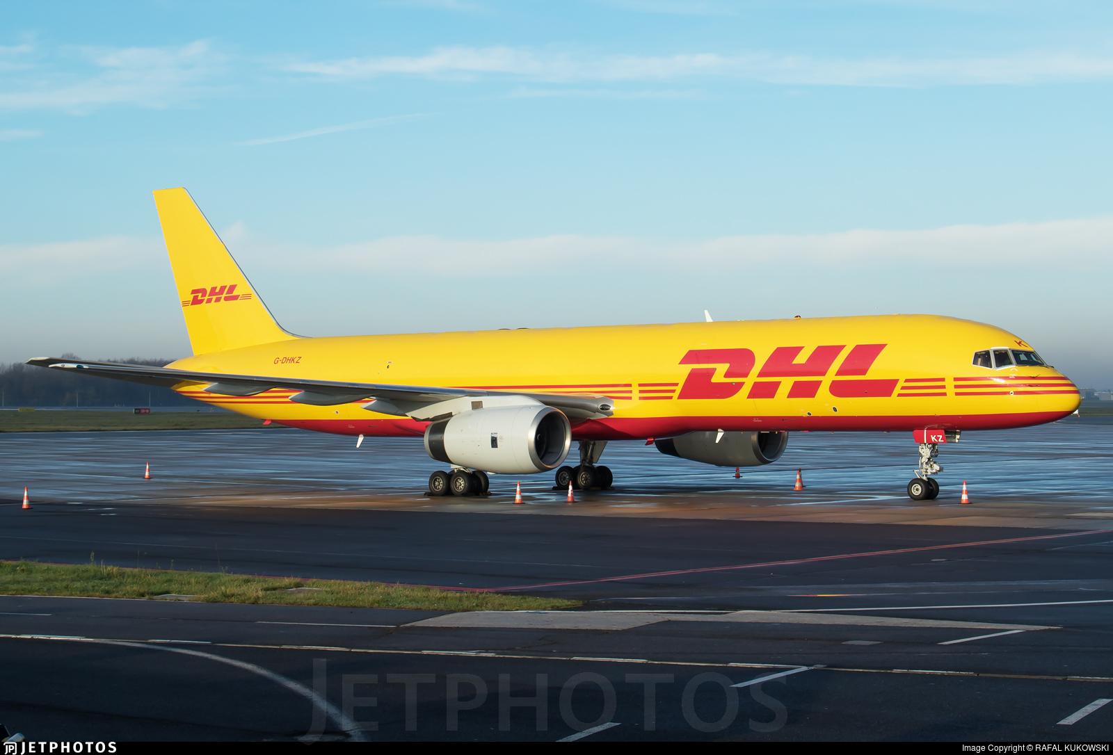 G-DHKZ - Boeing 757-236(PCF) - DHL Air