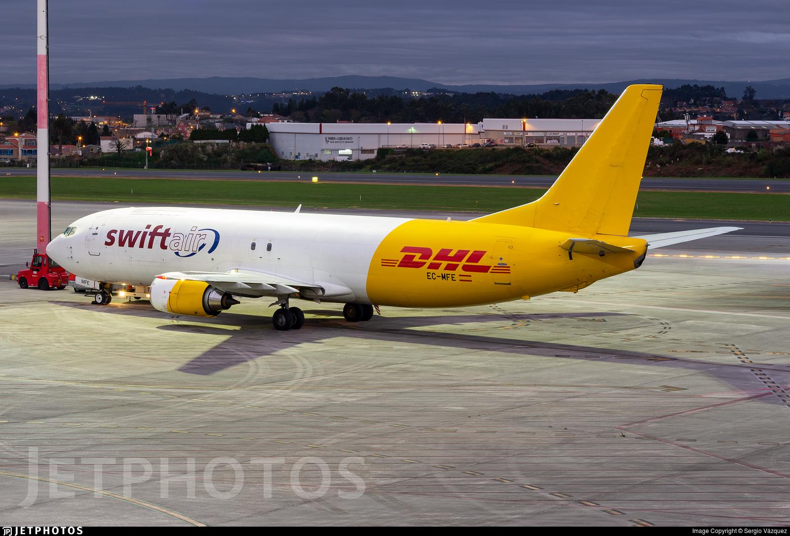 EC-MFE - Boeing 737-476(SF) - Swiftair