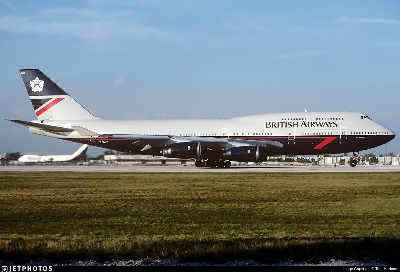 G-CIVH - Boeing 747-436 - British Airways