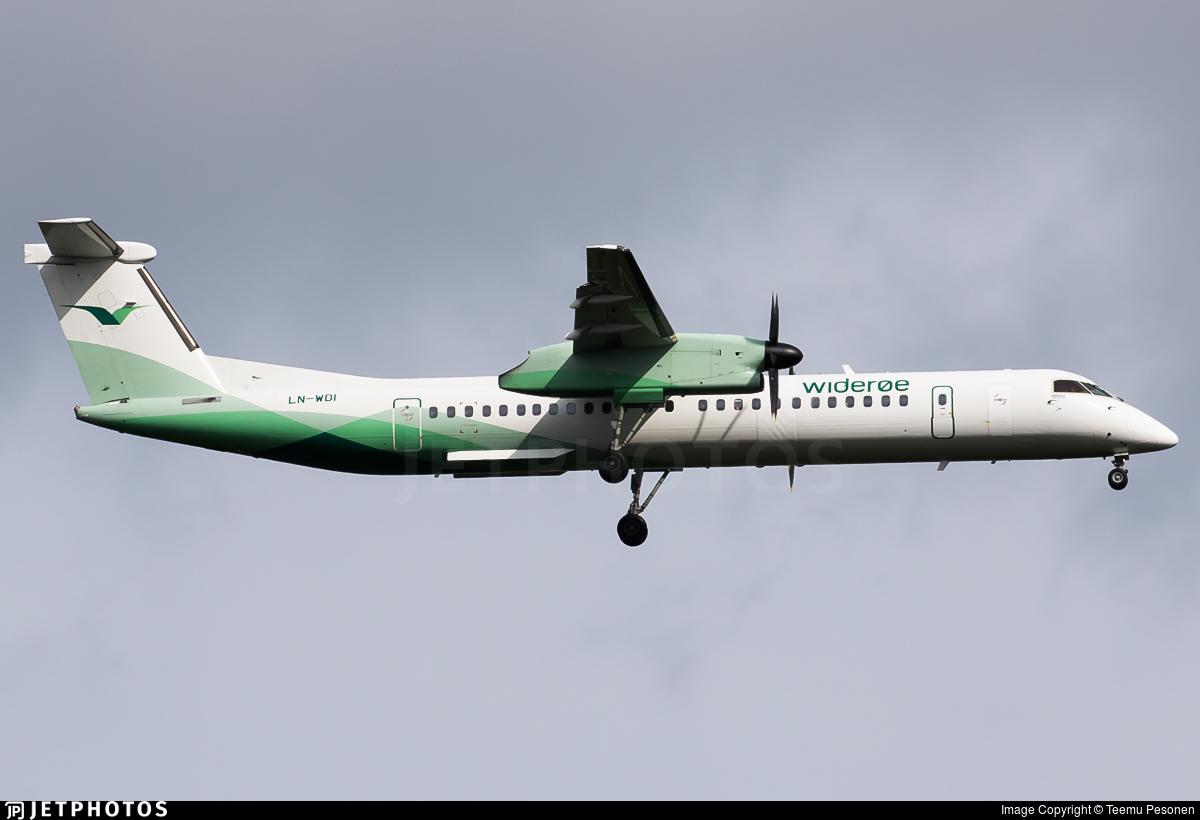 LN-WDI - Bombardier Dash 8-Q402 - Widerøe