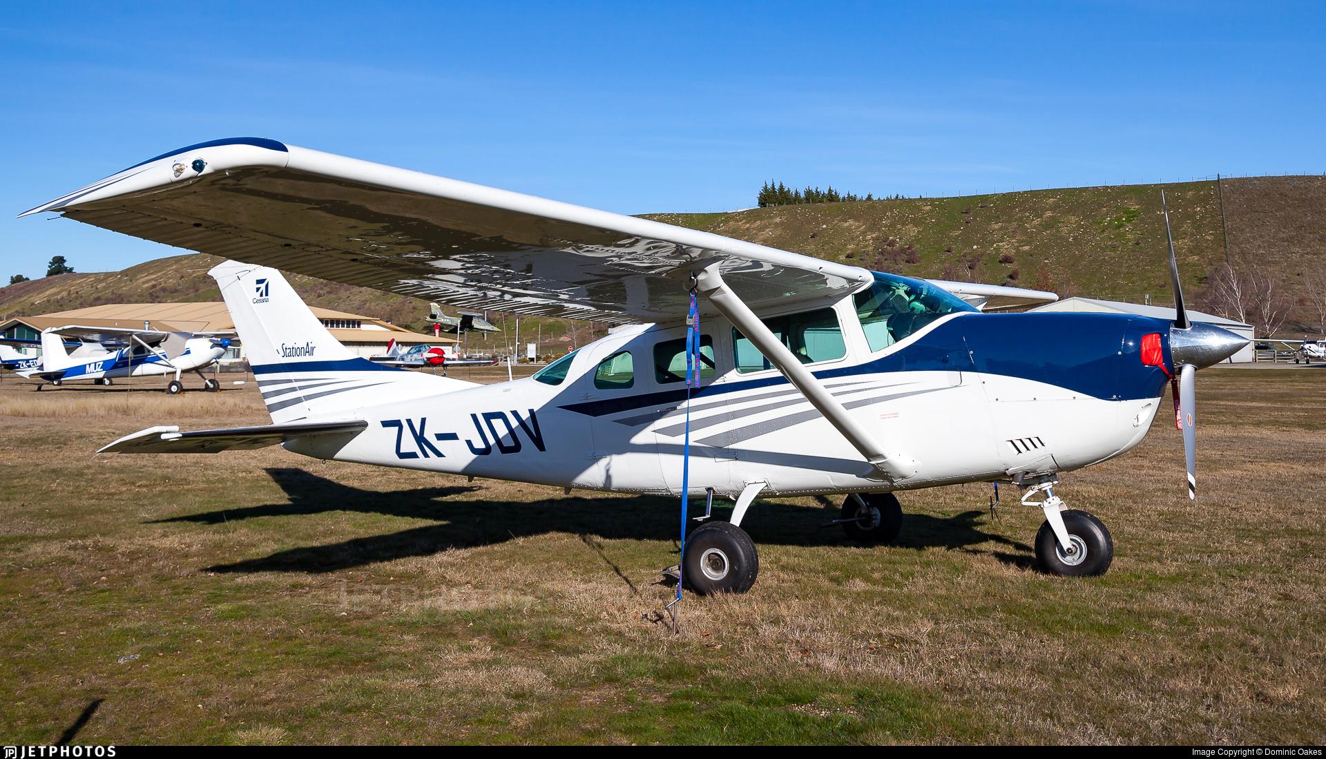 ZK-JDV - Cessna U206G Stationair - Private
