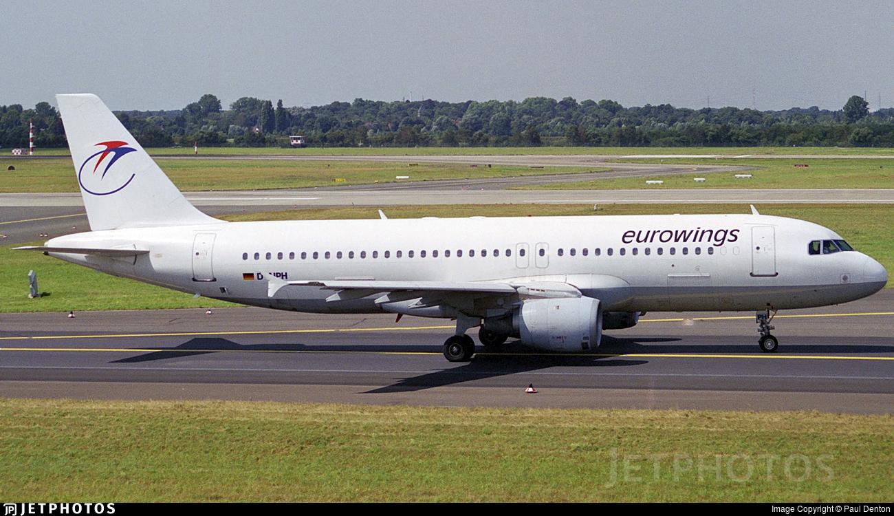 D-AIPH - Airbus A320-211 - Eurowings