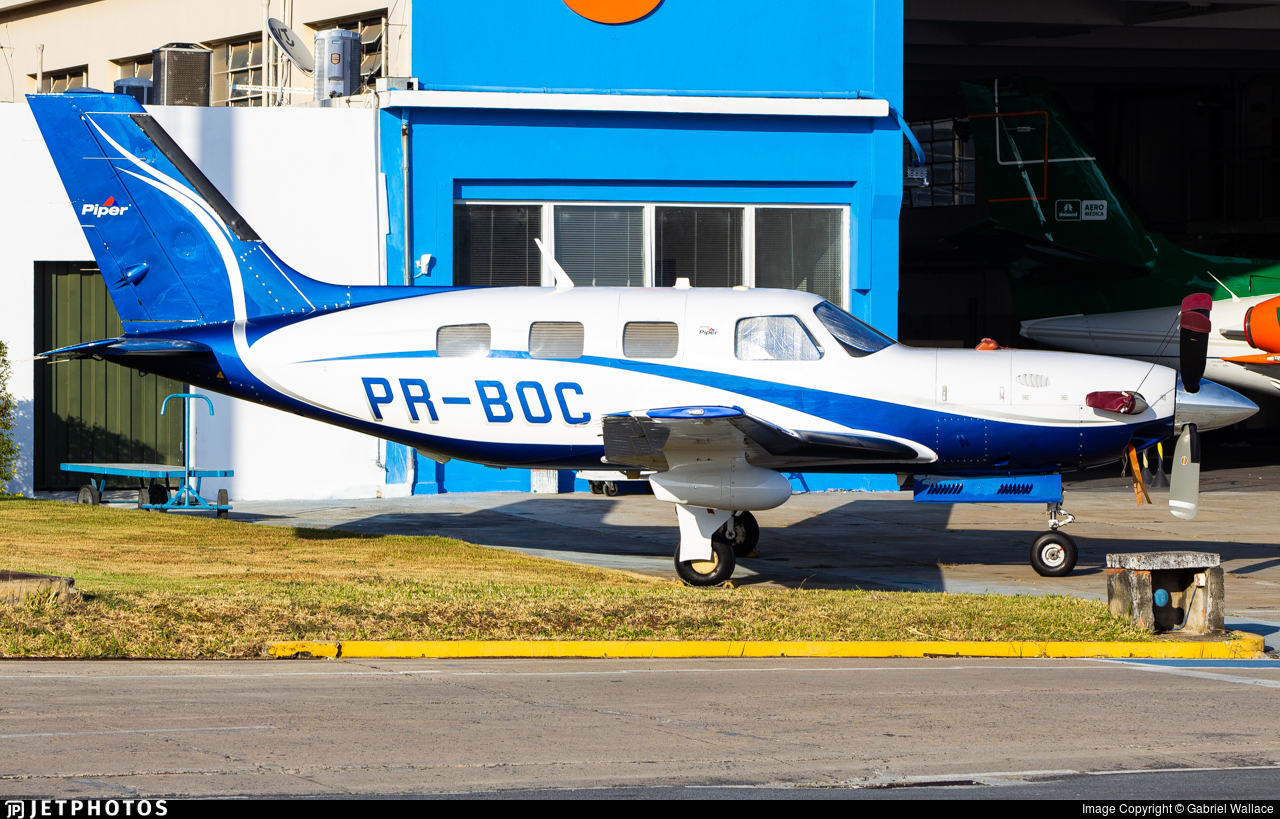 PR-BOC - Piper PA-46-500TP Malibu Meridian - Private
