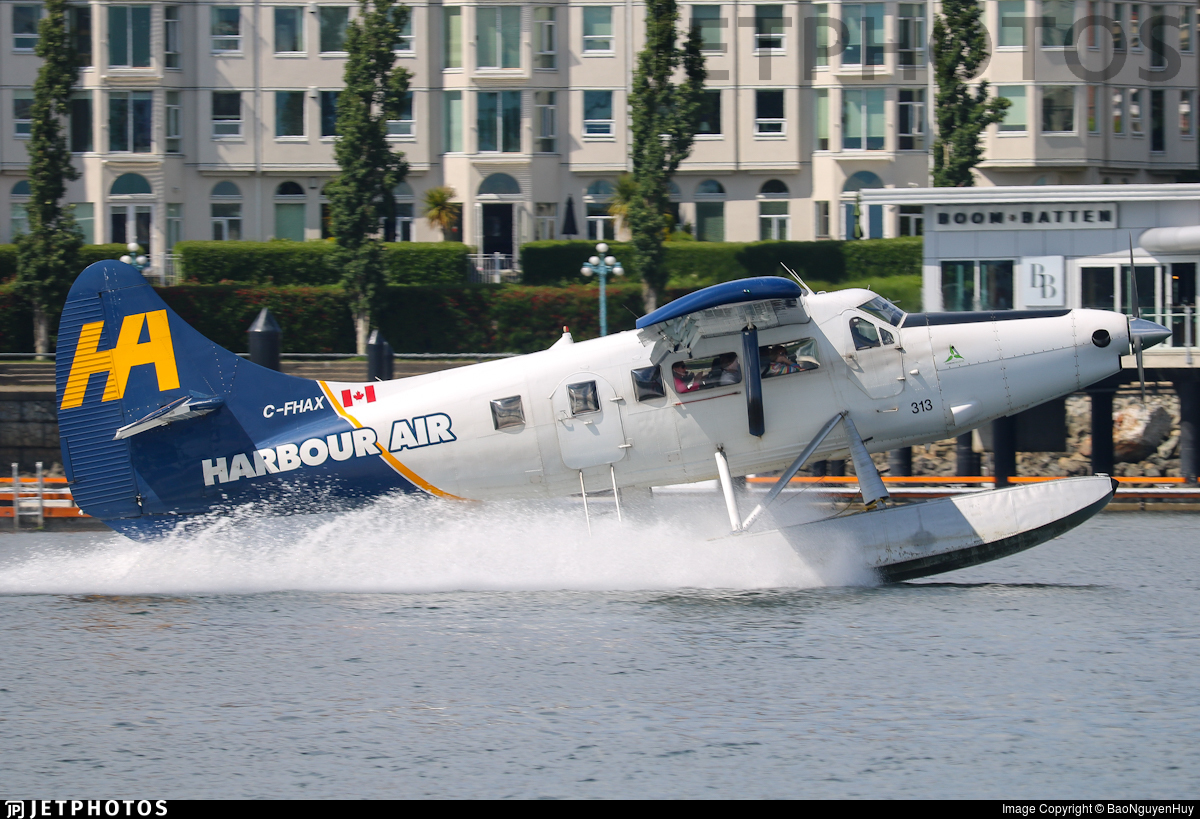 C-FHAX - De Havilland Canada DHC-3T Vazar Turbine Otter - Harbour Air