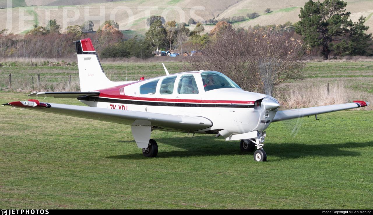 ZK-XPJ - Beechcraft F33 Bonanza - Private