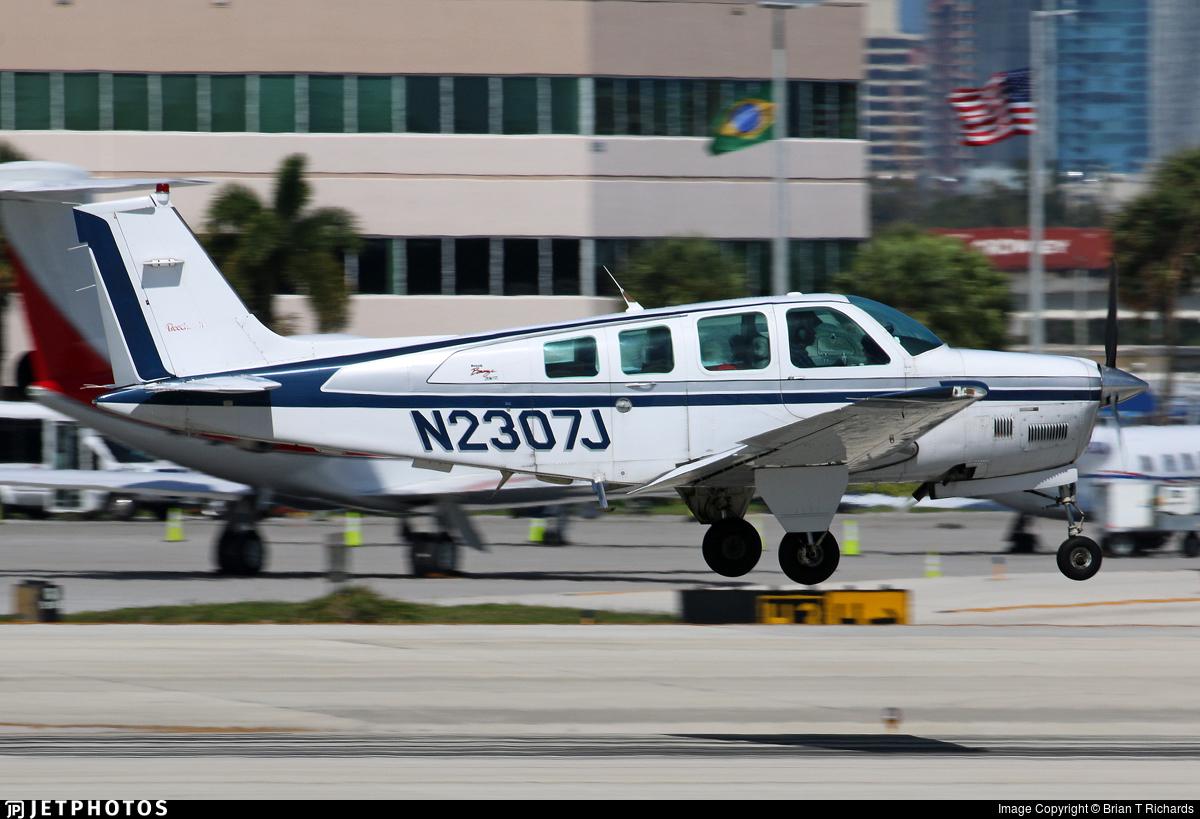 N2307J - Beechcraft B36TC Bonanza - Private