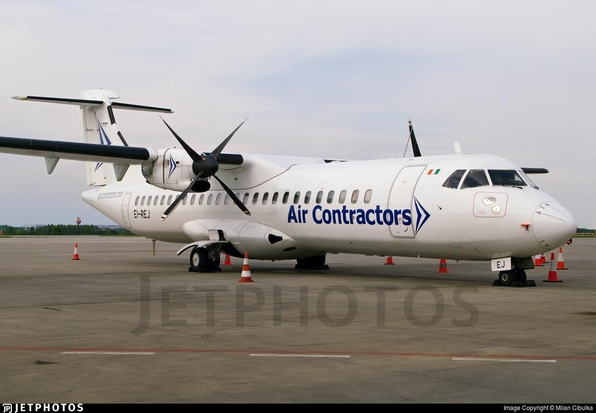 EI-REJ - ATR 72-201 - Air Contractors