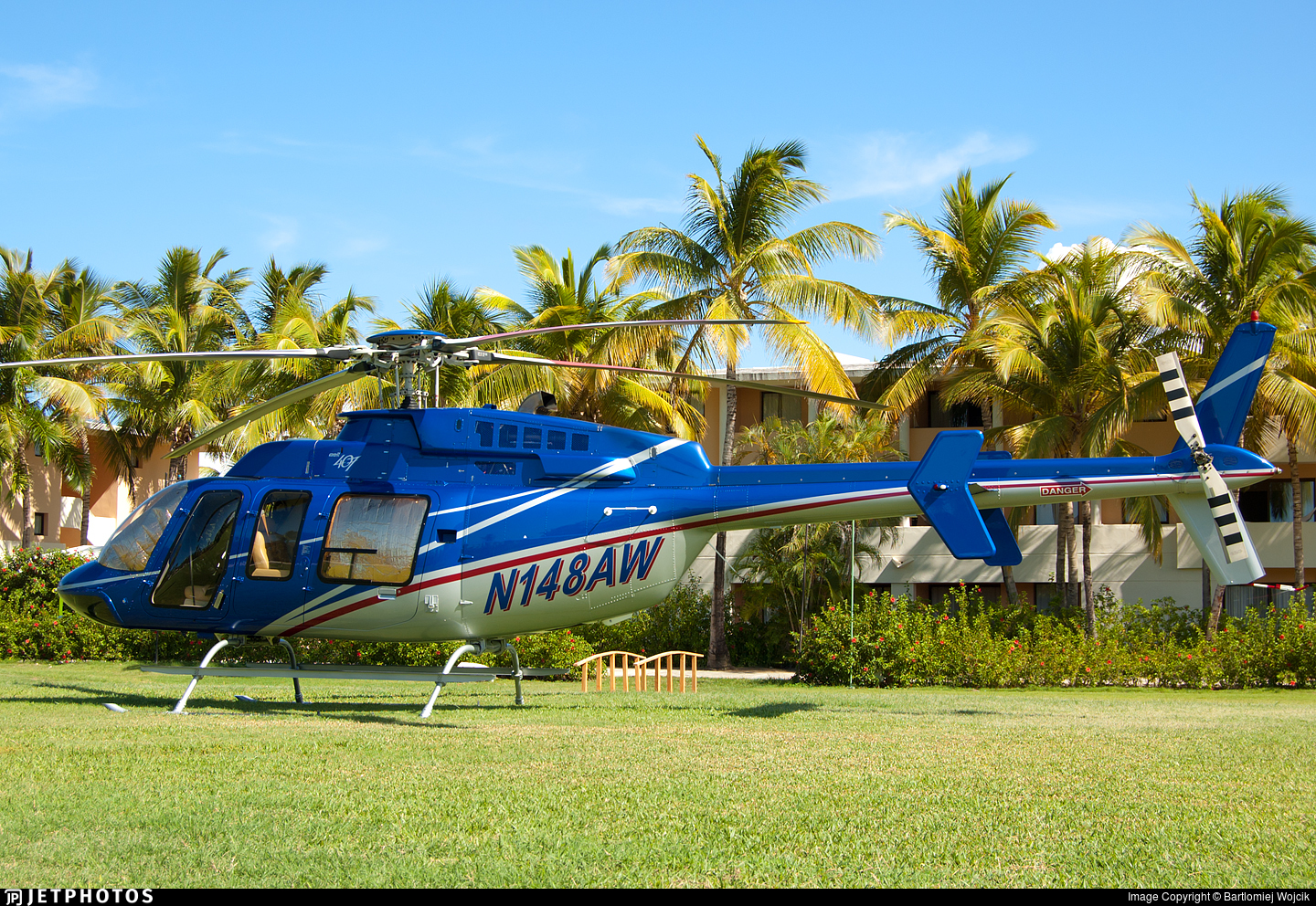 N148AW - Bell 407 - Private