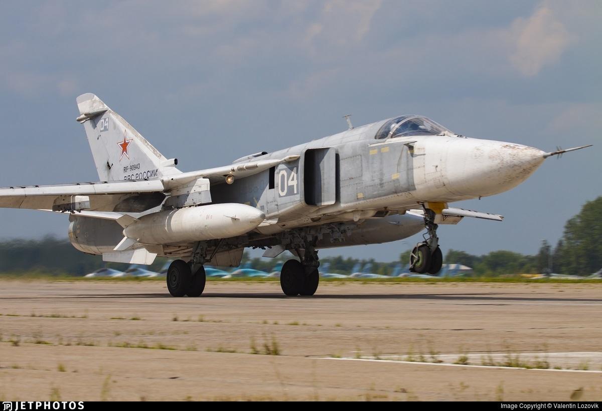 RF-90943 - Sukhoi Su-24M Fencer D - Russia - Air Force