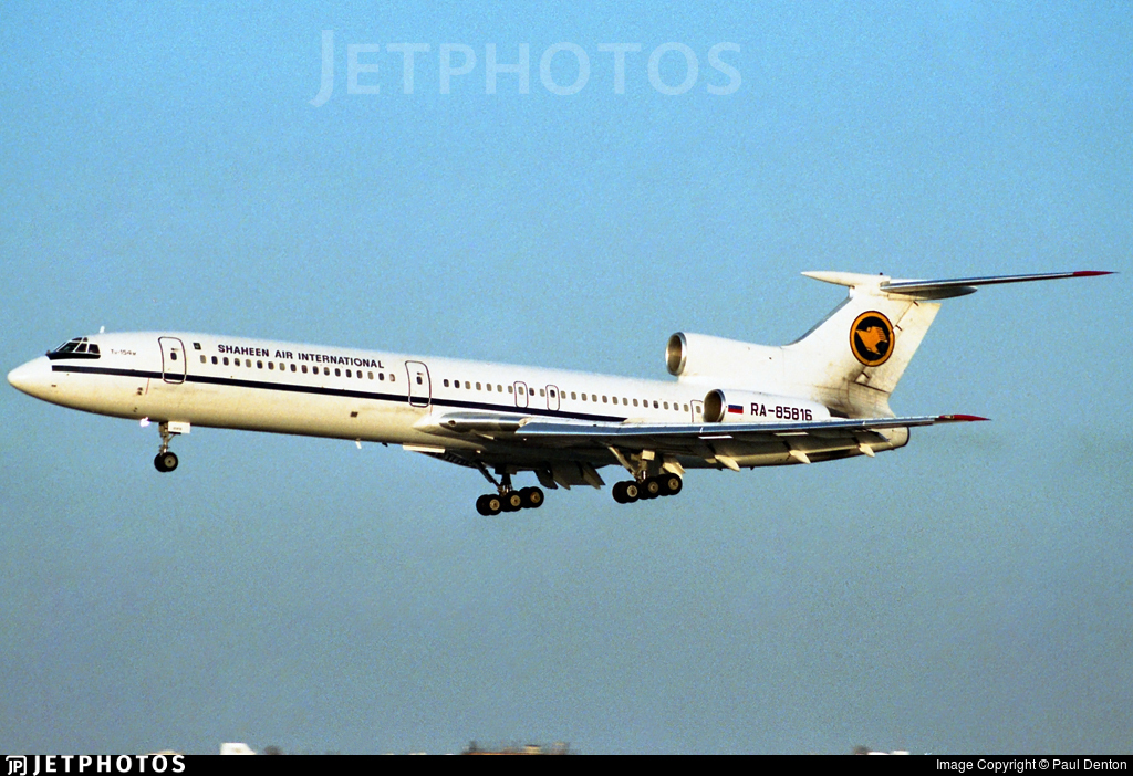 RA-85816 - Tupolev Tu-154M - Shaheen Air International