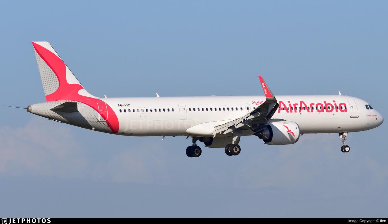 A6-ATC - Airbus A321-251NX - Air Arabia