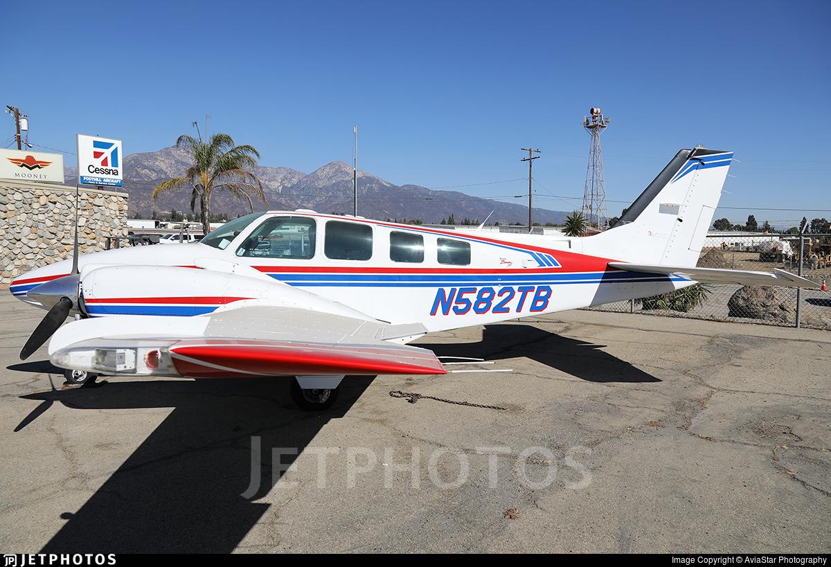 N582TB - Beechcraft 58 Baron - Private