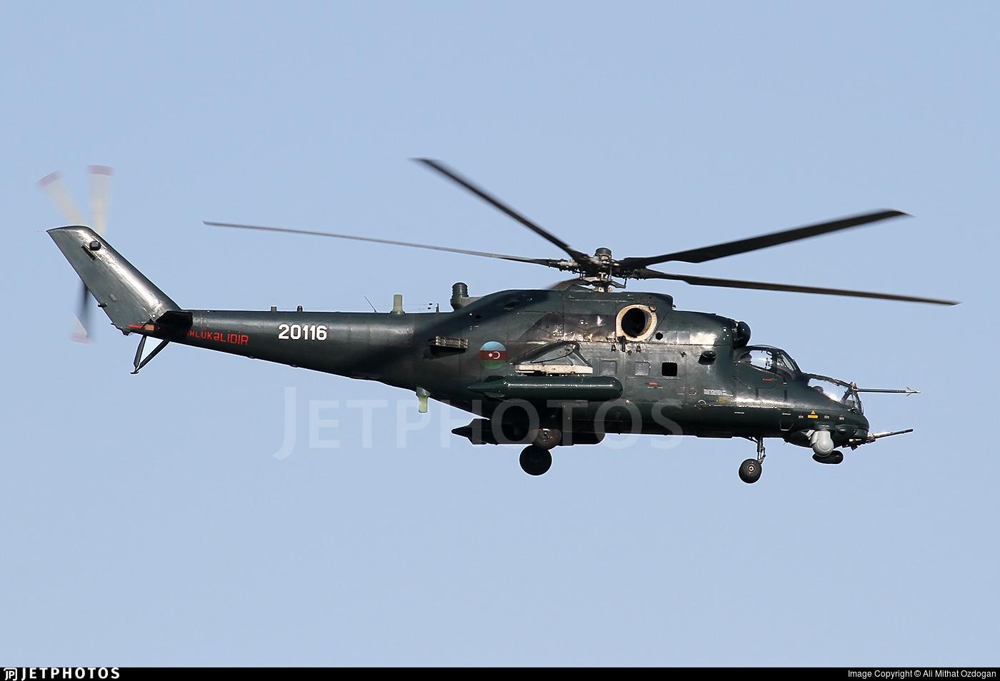 20116 - Mil Mi-35M Hind - Azerbaijan - Air Force