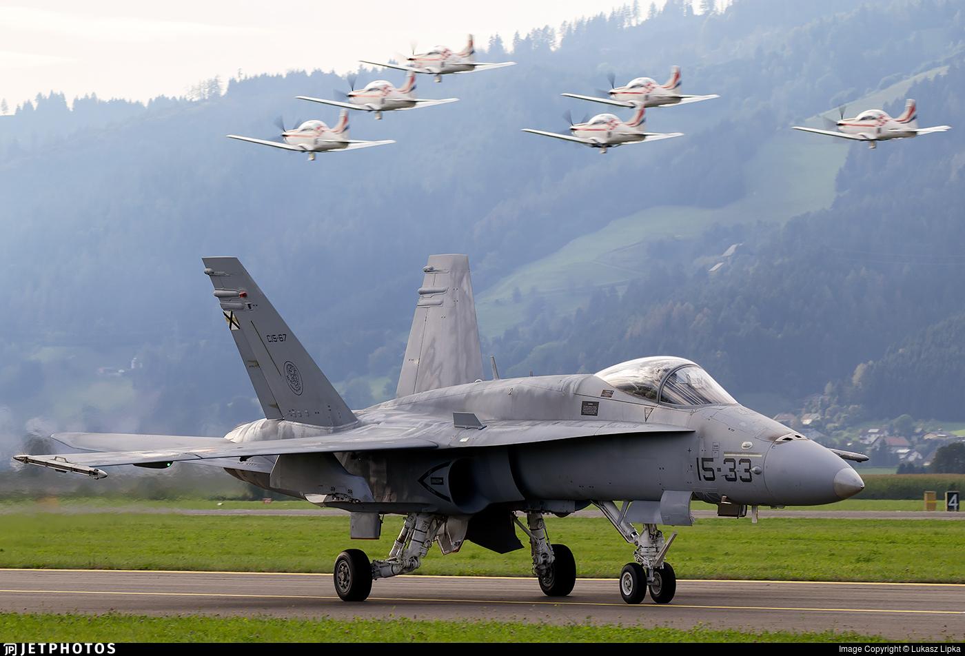 C.15-67 - McDonnell Douglas EF-18M Hornet - Spain - Air Force