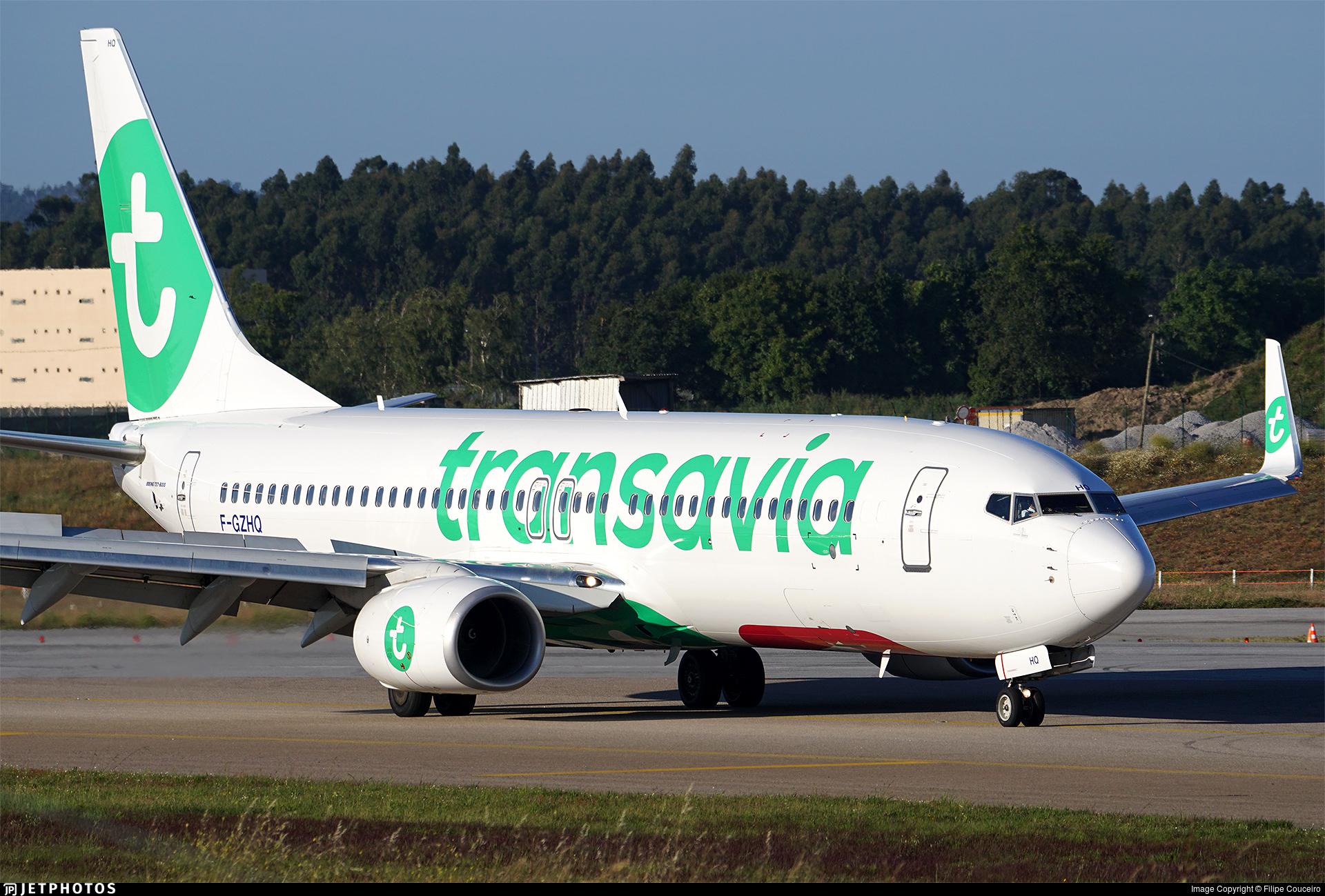 F-GZHQ - Boeing 737-8K2 - Transavia France
