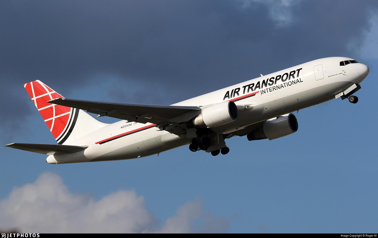N255CM - Boeing 767-223(BDSF) - Air Transport International (ATI)
