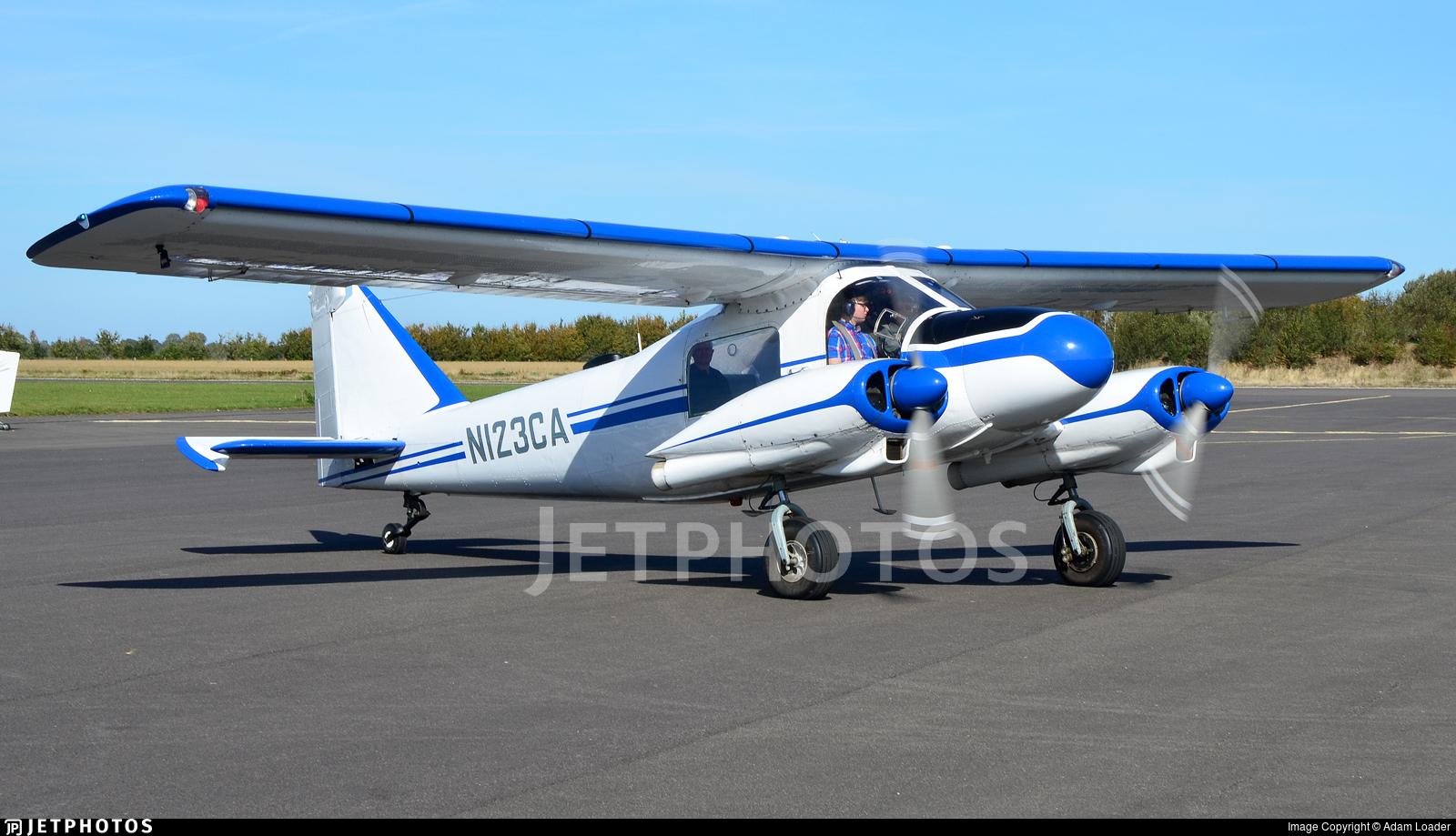 N123CA - Dornier Do-28A1 Skyservant - Private