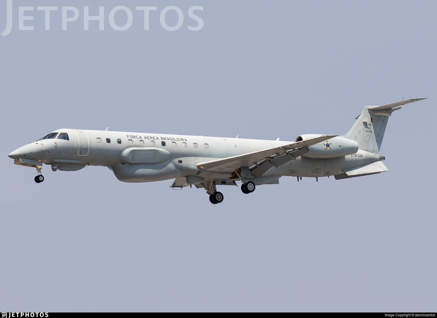 FAB6752 - Embraer R-99B - Brazil - Air Force