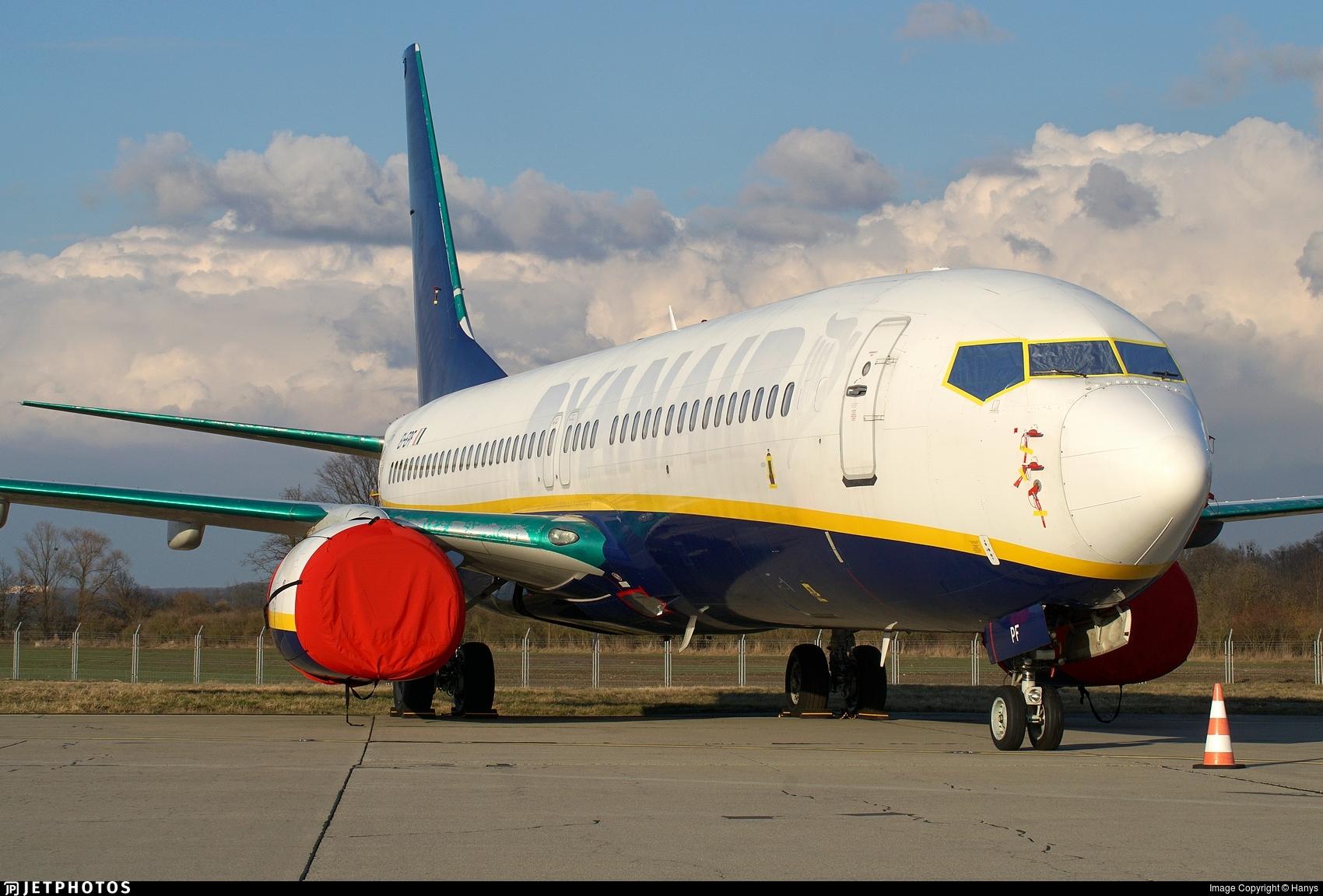 EI-EPF - Boeing 737-8AS - Untitled