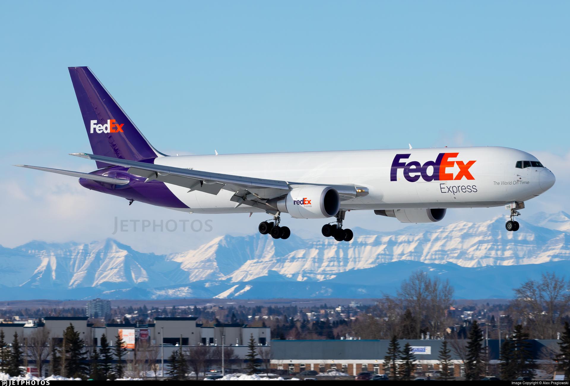 N119FE - Boeing 767-3S2F(ER) - FedEx