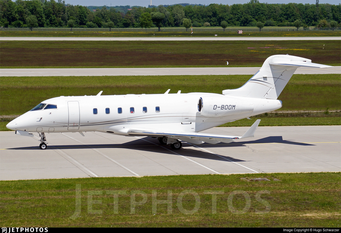 D-BOOM - Bombardier BD-100-1A10 Challenger 300 - Windrose Air Jetcharter