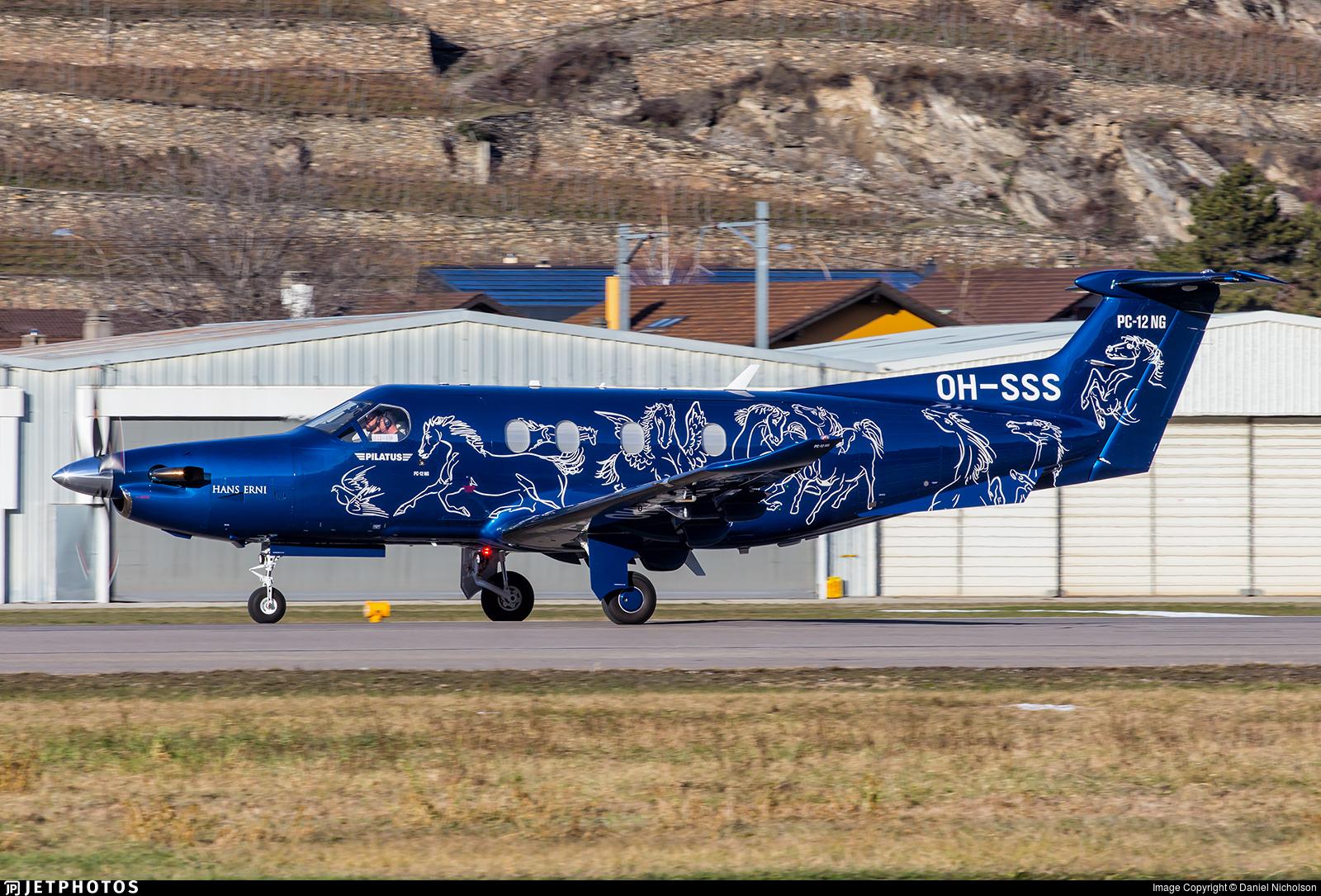 OH-SSS - Pilatus PC-12/47E - Fly 7 Executive Aviation