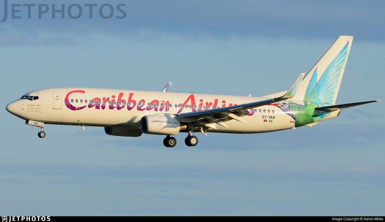 9Y-TAB - Boeing 737-8Q8 - Caribbean Airlines