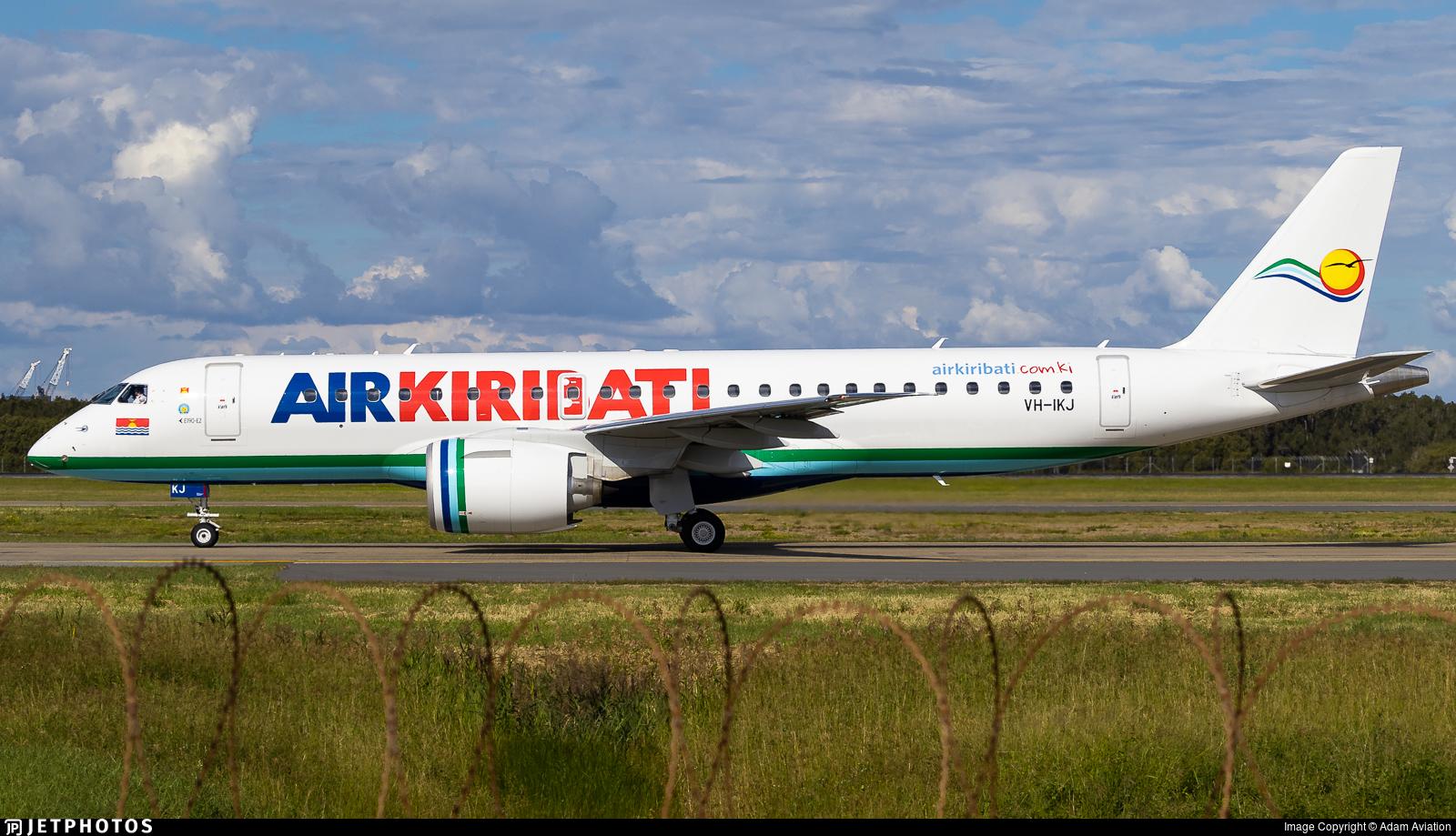 VH-IKJ - Embraer 190-300STD - Air Kiribati (Pionair)