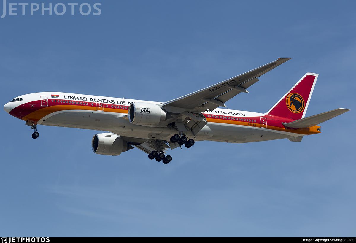 D2-TED - Boeing 777-2M2(ER) - TAAG Linhas Aéreas de Angola