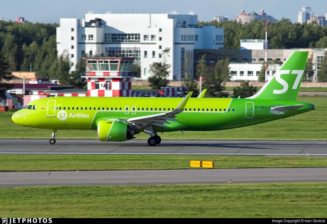 VP-BVJ - Airbus A320-271N - S7 Airlines